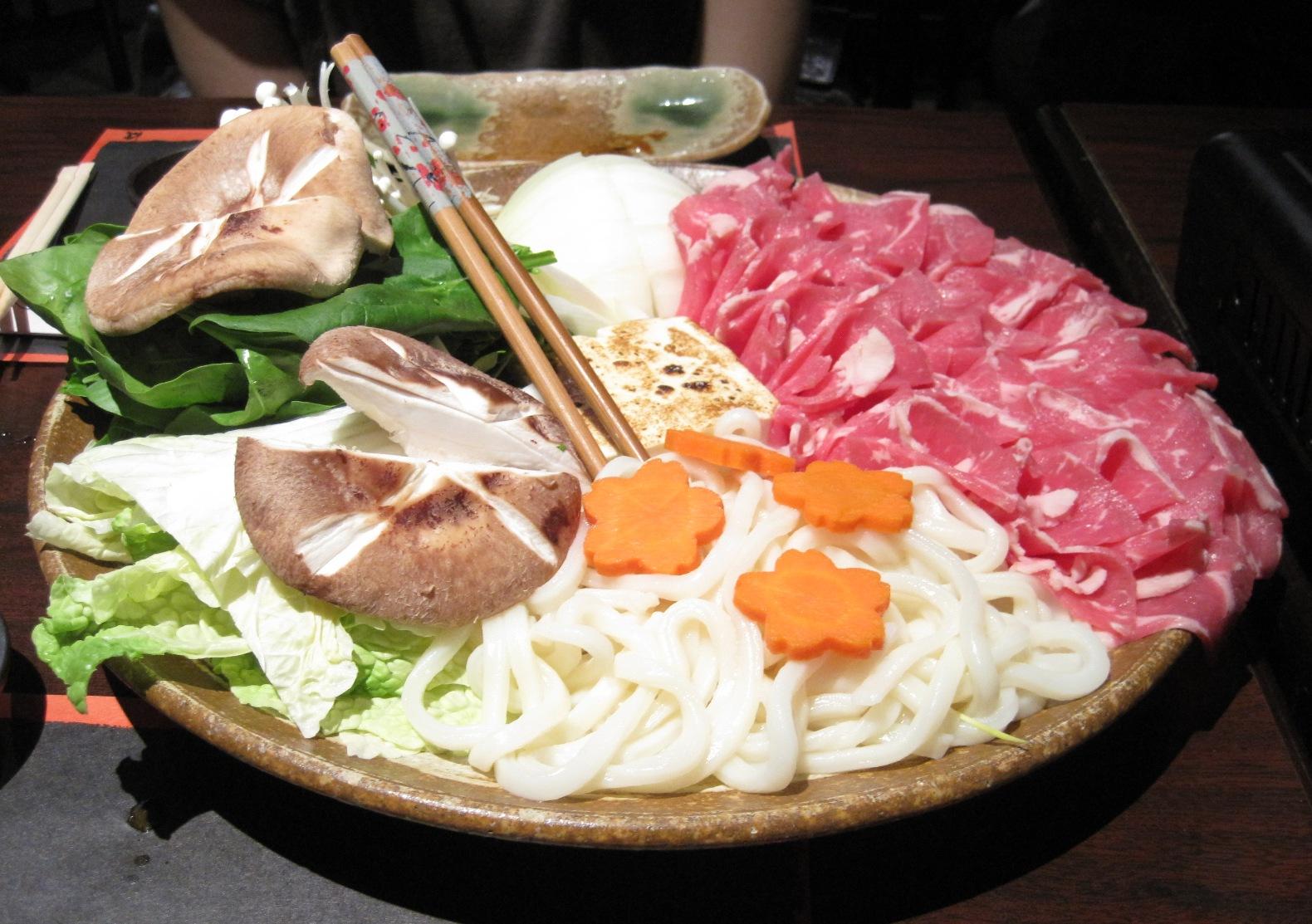 Traditional Sukiyaki (Japanese Beef Hot Pot) Recipe — Dishmaps