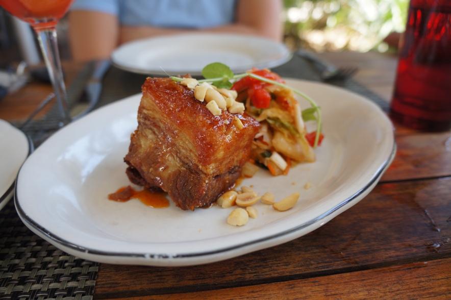 Crispy Sweet & Spicy Pork Belly