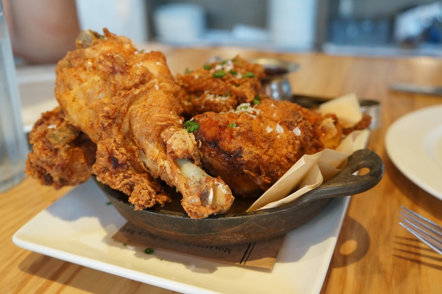 Fried Chicken from Yardbird Southern Table & Bar (Miami)