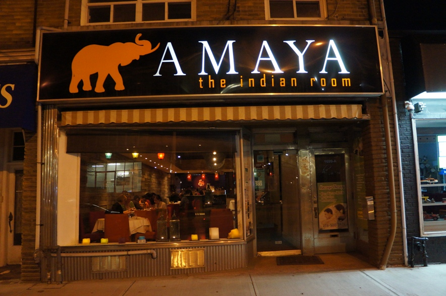 Amaya indian room now closed where jess ate for Amaya indian cuisine