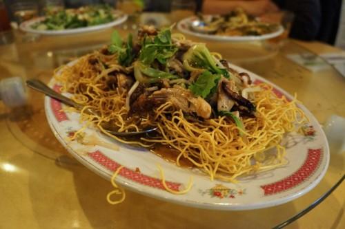 Jerk Chicken Chow Mein