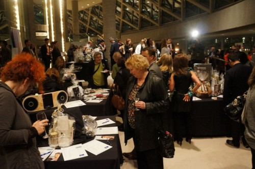 The silent auction
