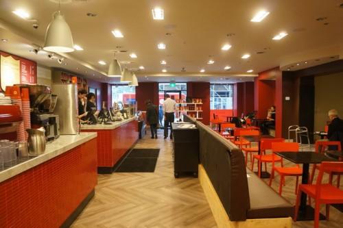 Caffé Artigiano's newest location