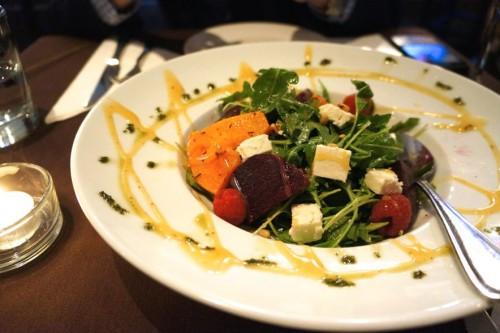 Beet & Butternut Squash Salad
