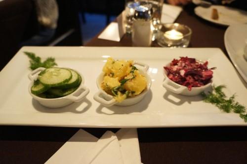 German Salad Trio