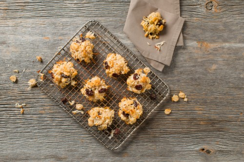 Coconut Cranberry Macaroons-007