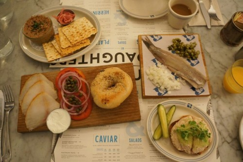 Our Russ & Daughters Feast!