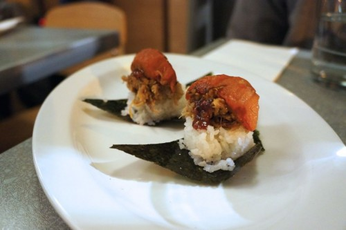 Roast Pork Musubi