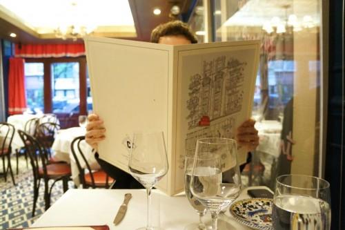 Giant menus!