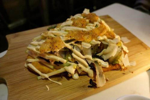 Fried Chicken Caesar Flatbread