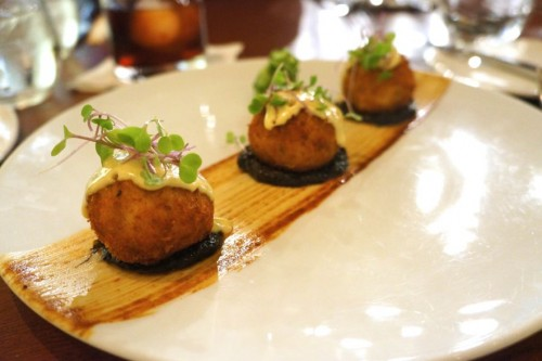 Unagi & Butterfish Arancini