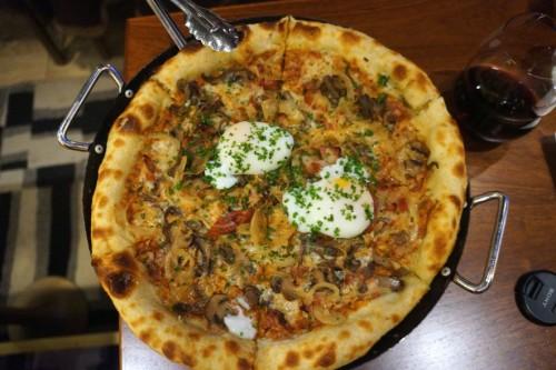 Uovo Pizza