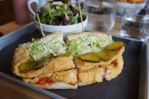 Basa Fish Po'Boy