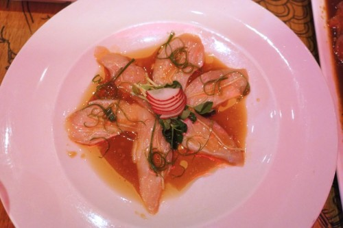 Hot Oil Hamachi