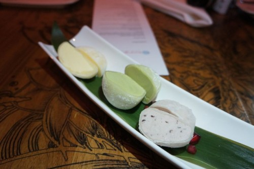 Mochi Ice Cream Trio