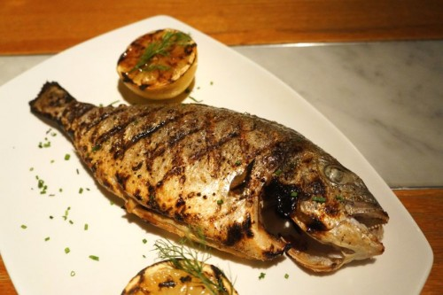 Grilled Seabream