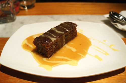 Starfish Sticky Toffee Pudding