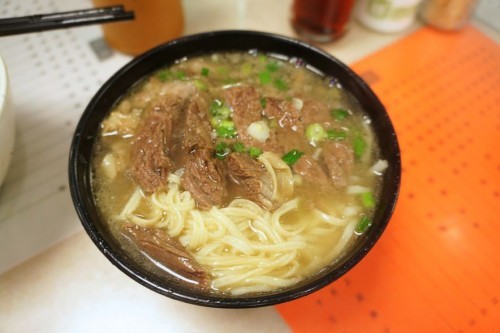 Beef Brisket with E-fu Noodles