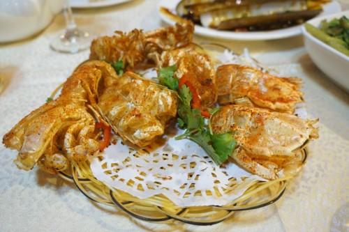 Deep Fried Mantis Shrimp