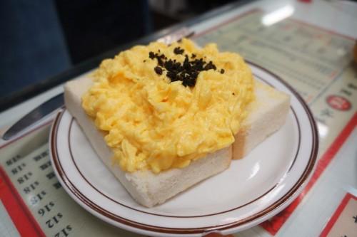 Scrambled Eggs with Truffle