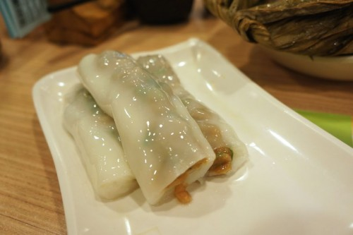 Steamed Rice Roll with Beef