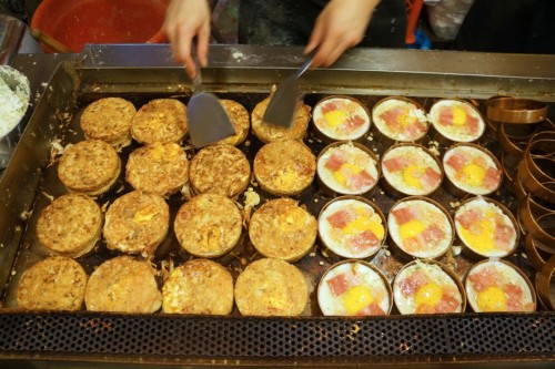 Fukushima Circle Pies in the making
