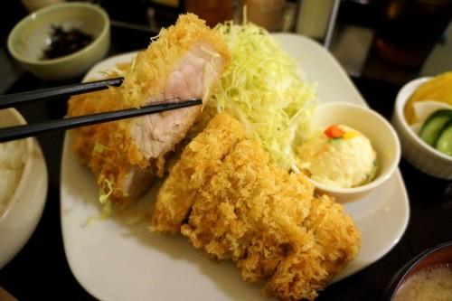 Another version of Narikura's tonkatsu