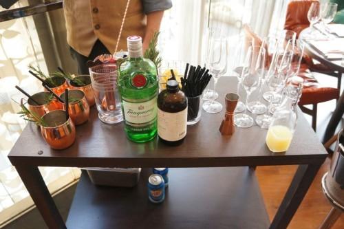Table-side cocktails