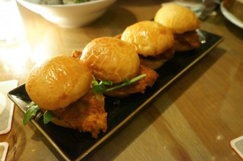 Crispy Oyster Sliders