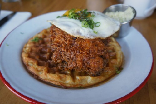 Hopgood's Hot Chicken and Waffles