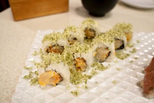 Crunchy Hokkaido Scallop Roll