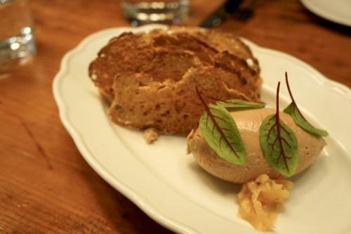 Venison Liver & Foie Gras Parfait