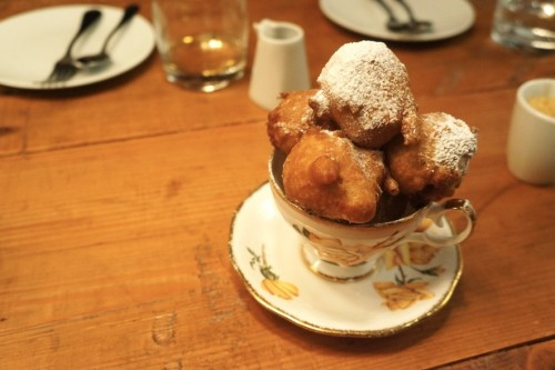Louisbourg Hot Chocolate Beignets