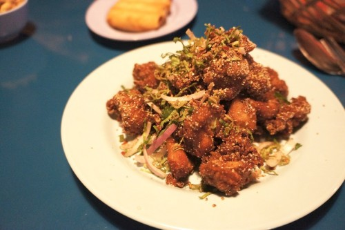 Southern Fried Chicken Laab