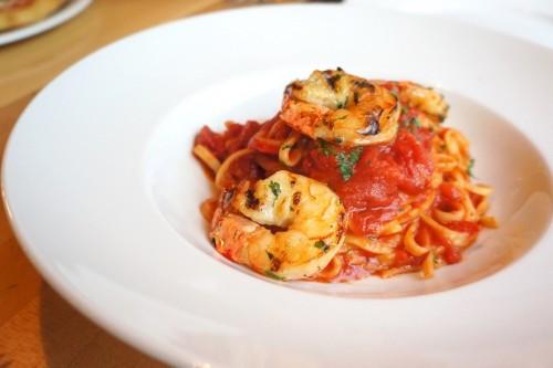 Grilled Shrimp Linguini