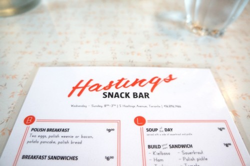Hasting's Snack Bar