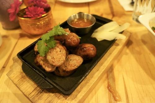 Pork Belly Lao Sausage