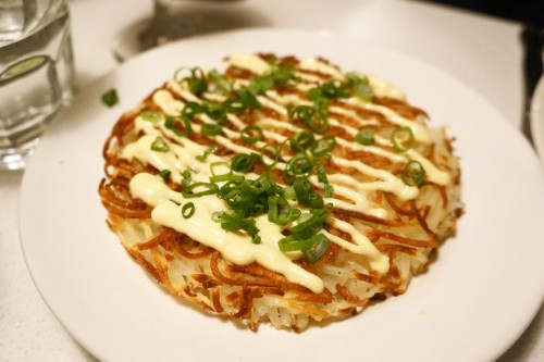 Hash Browns with Malt Mayo