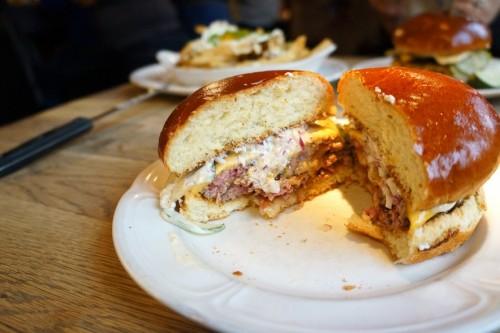 A 'single' cheeseburger